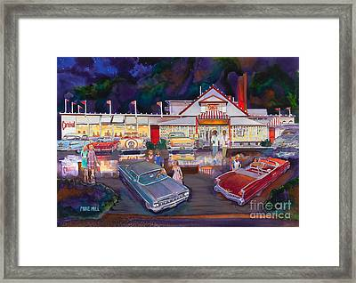The Carnival Portland Oregon Framed Print by Mike Hill