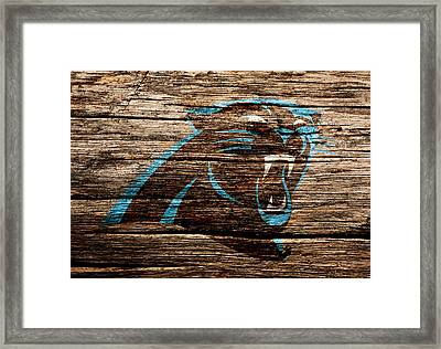 The Carolina Panthers 4c Framed Print by Brian Reaves