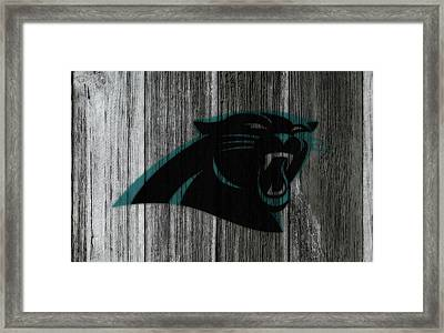 The Carolina Panthers C1 Framed Print by Brian Reaves