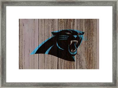 The Carolina Panthers C2 Framed Print by Brian Reaves