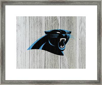 The Carolina Panthers C7 Framed Print by Brian Reaves