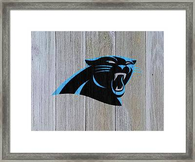 The Carolina Panthers C8 Framed Print by Brian Reaves