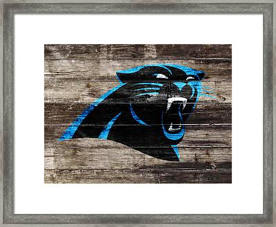 The Carolina Panthers W6 Framed Print by Brian Reaves