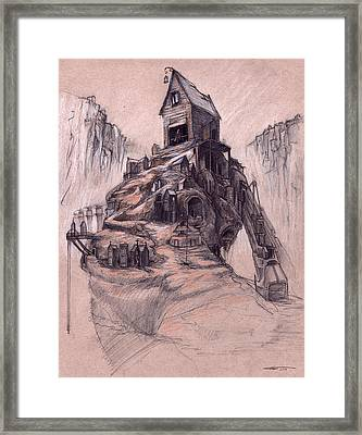 The Casket Maker's Shop  Framed Print by Ethan Harris