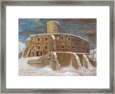 The Castle Framed Print by Anna Folkartanna Maciejewska-Dyba