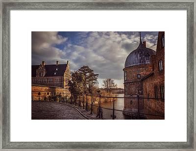 The Castle Walk Framed Print by Carol Japp