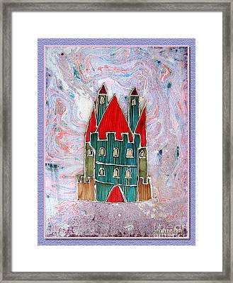 The Castle Whispers Framed Print by Aqualia