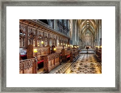 The Cathedral  Framed Print by Adrian Evans