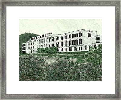 The Catskill Mountain House Framed Print by Jamison Smith