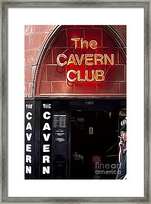 The Cavern Club Framed Print by Andrew Michael