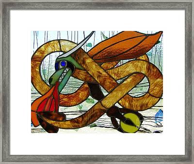 The Celtic Dragon Framed Print by Kelvin Mays