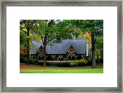 The Central Park Dairy Framed Print by Christopher Kirby