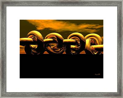 The Chain Framed Print by Robert Orinski