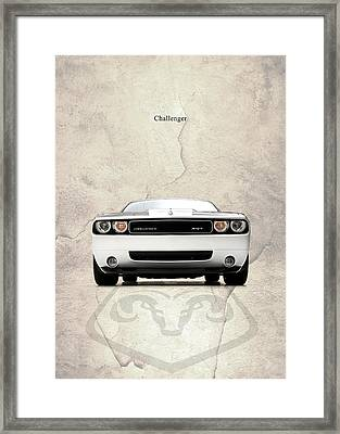 The Challenger Framed Print by Mark Rogan