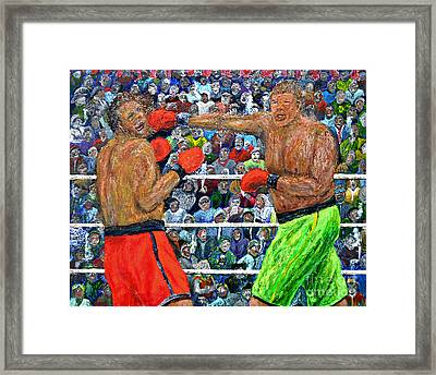 The Champion Framed Print by Richard Wandell