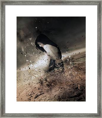The Change Framed Print by Mary Hood