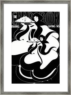 The Chapbook Thanksgiving Front Cover Framed Print by American School