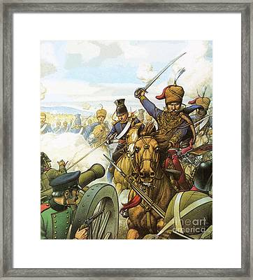 The Charge Of The Light Brigade Framed Print by Pat Nicolle