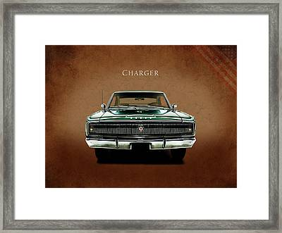 The Charger Framed Print by Mark Rogan