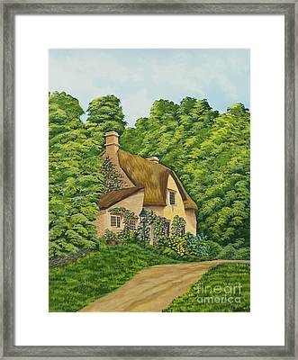 The Charm Of Wiltshire Framed Print by Charlotte Blanchard