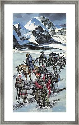 The Cherokee Framed Print by Ron Embleton