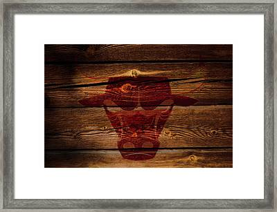 The Chicago Bulls W1 Framed Print by Brian Reaves