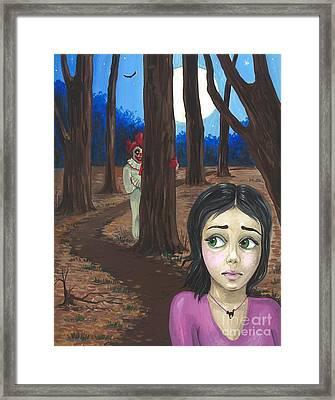 The Chill Framed Print by Margaryta Yermolayeva