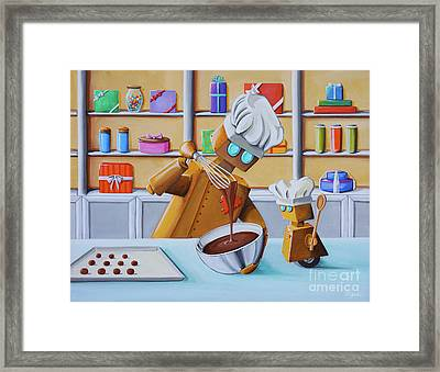 The Chocolatiers Framed Print by Cindy Thornton