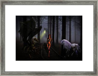 The Choices We Make Framed Print by Solomon Barroa
