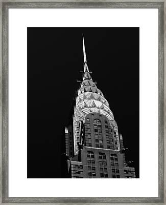 The Chrysler Building Framed Print by Vivienne Gucwa