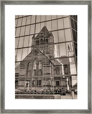 The Church Framed Print by JC Findley
