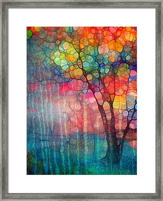 The Circus Tree Framed Print by Tara Turner