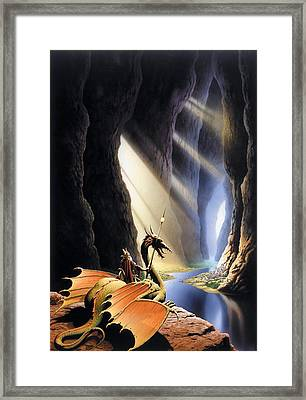 The Citadel Framed Print by The Dragon Chronicles - Steve Re