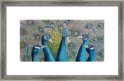The City Council Framed Print by Susan Moyer