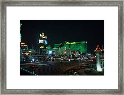 The City Of Entertainment Framed Print by Stephen Campbell