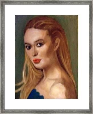The Classic Beauty Framed Print by Peter Gartner