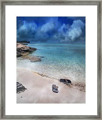 The Cloud Parade Framed Print by Betsy C Knapp