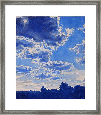 The Cloud Procession Framed Print by Andrew Danielsen