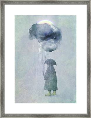 The Cloud Seller Framed Print by Eric Fan