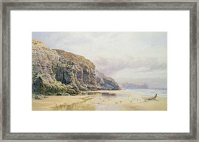 The Coast Of Cornwall  Framed Print by John Mogford