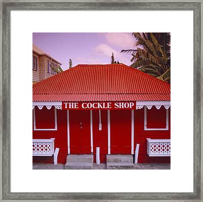 The Cockle Shop Framed Print by Shaun Higson