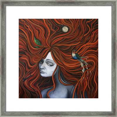 The Collector Framed Print by Kelly Jade King
