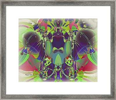 The Color Mask Framed Print by Moustafa Al Hatter