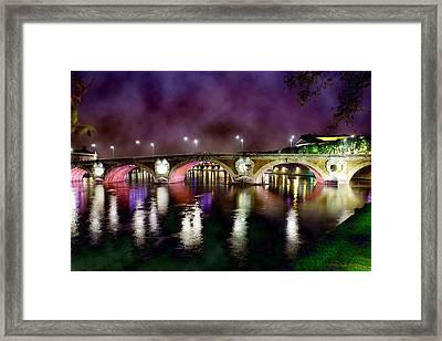 The Color Of The Night. Framed Print by Marta Eva LLamera