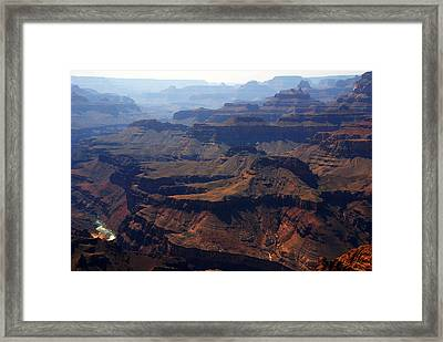 The Colorado River Framed Print by Susanne Van Hulst