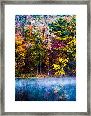 The Colors Of Autumn Framed Print by Parker Cunningham