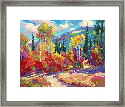The Colors Of New Hampshire Framed Print by David Lloyd Glover