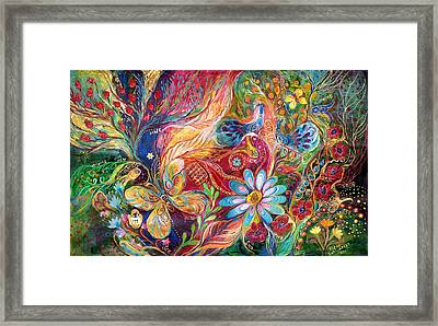 The Colors Of Spring. The Original Can Be Purchased Directly From Www.elenakotliarker.com Framed Print by Elena Kotliarker