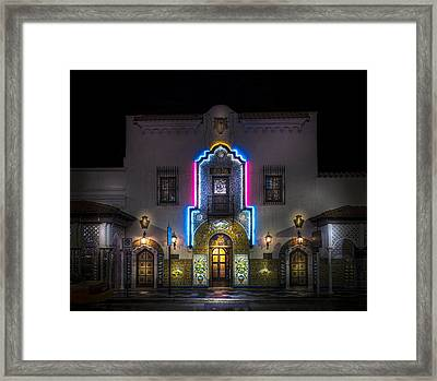 The Columbia Restaurant Framed Print by Marvin Spates