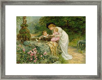The Coming Nelson Framed Print by Frederick Morgan
